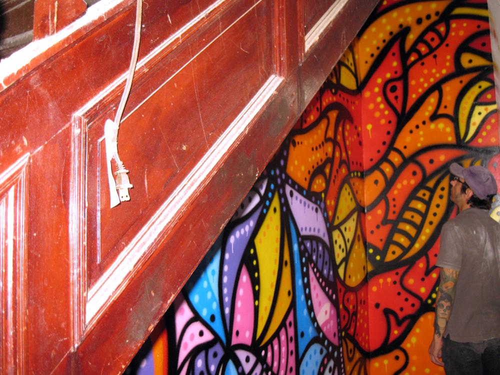 Weird Eye One Murals